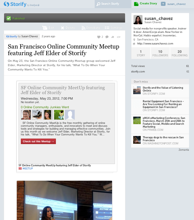 Let Your Community Do the Storytelling with Storify
