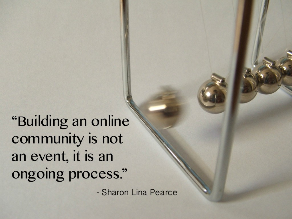 Building Community is a Process